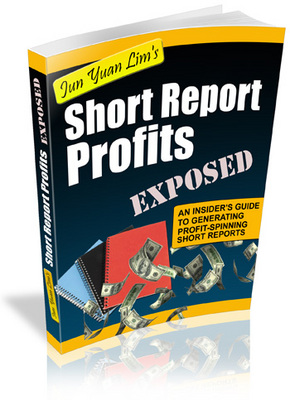 Product picture Short Report Profits Exposed