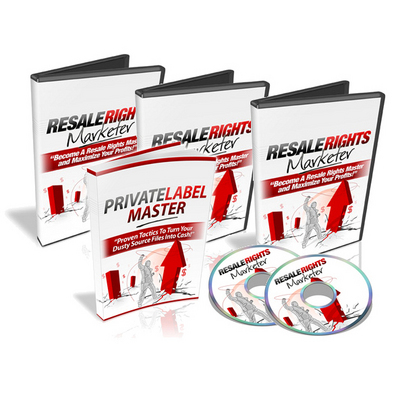 Product picture Resale Rights Marketer (With Master Resell Rights)