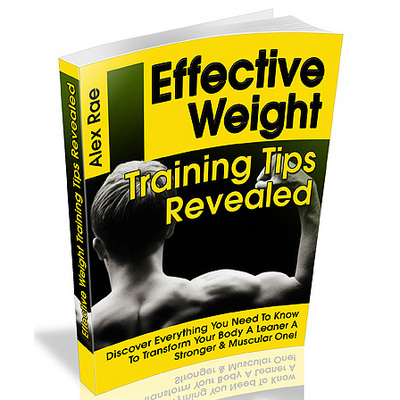 Product picture Effective Weight Training Tips Revealed