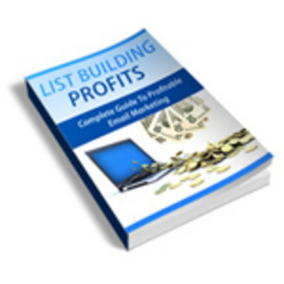 Product picture List Building Profits (With Master Resell Rights)